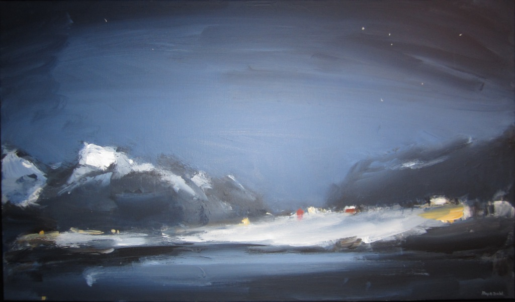 Roy Andreas Dahl – malerier