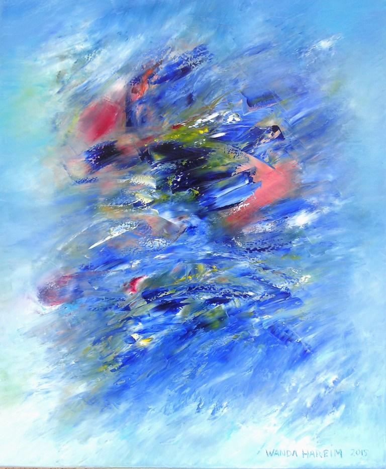 Wanda Hareim / malerier / 9. – 31. januar 2016