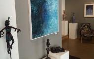 Marianne Houtkamp / skulptur. Nina Nesje / skulptur. Simon Aaen / maleri