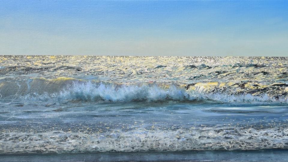 KEN ZIER / Tilbake til havet / malerier / 27.04 – 19.05 2019
